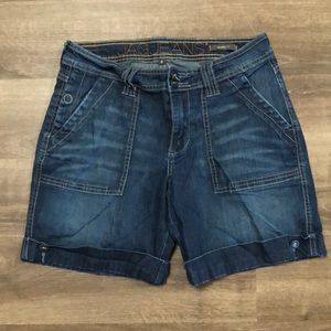 Jag Jeans Relaxed Fit Denim Shorts size 6